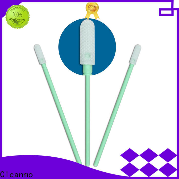 Cleanmo ESD-safe sensor cleaning swabs supplier for Micro-mechanical cleaning