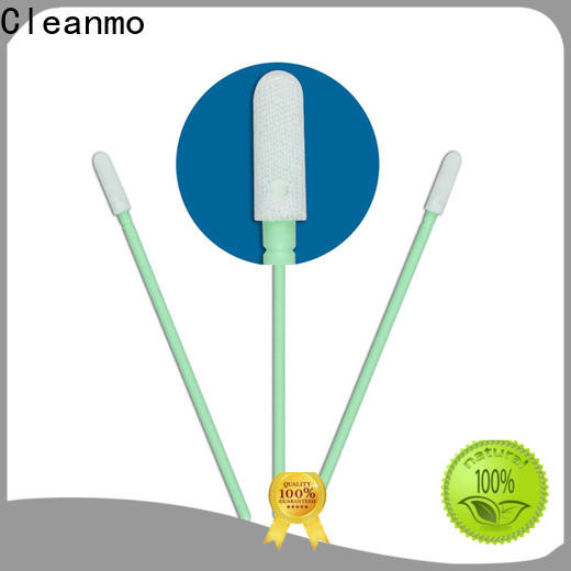 ESD-safe optical cotton swab Polypropylene handle supplier for excess materials cleaning