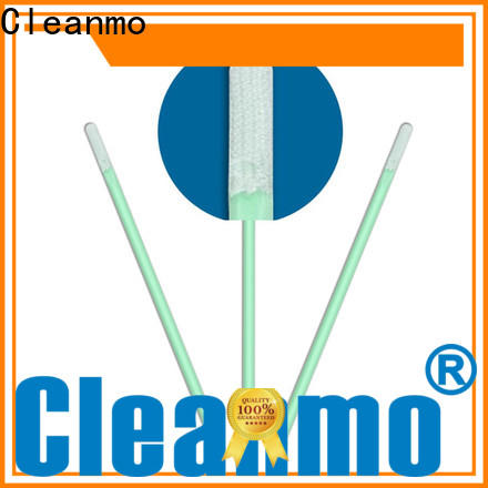 Cleanmo affordable Microfiber Industrial Swab Sticks manufacturer for excess materials cleaning
