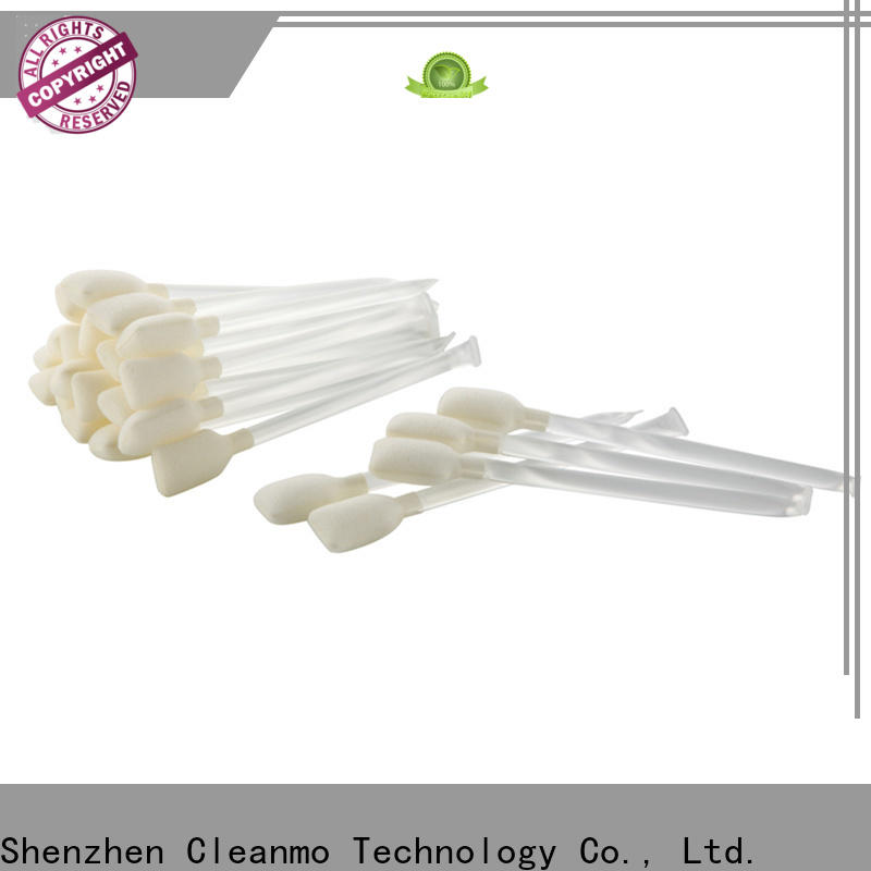 Cleanmo Sponge printer swabs wholesale for ATM/POS Terminals