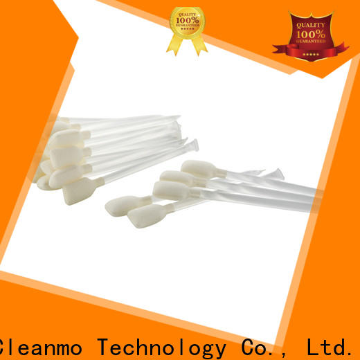 Cleanmo blending spunlace zebra printer cleaning factory for ID card printers