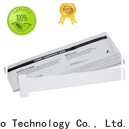 Cleanmo disposable zebra printhead cleaning wholesale for ID card printers