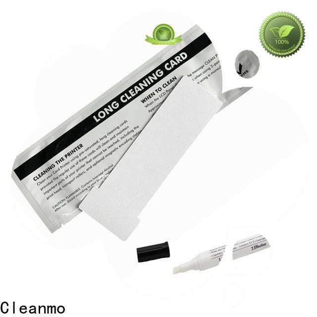 Cleanmo non woven inkjet printhead cleaner supplier for prima printers