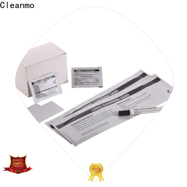Cleanmo Electronic-grade IPA Snap Swab printer cleaning supplies supplier for ID card printers