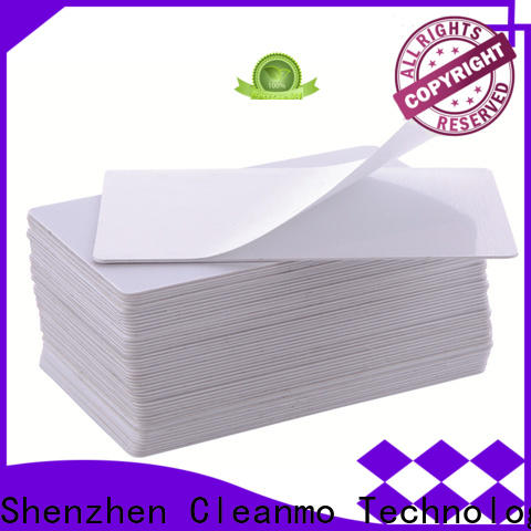 Cleanmo Hot-press compound printer cleaning supplies wholesale for Cleaning Printhead
