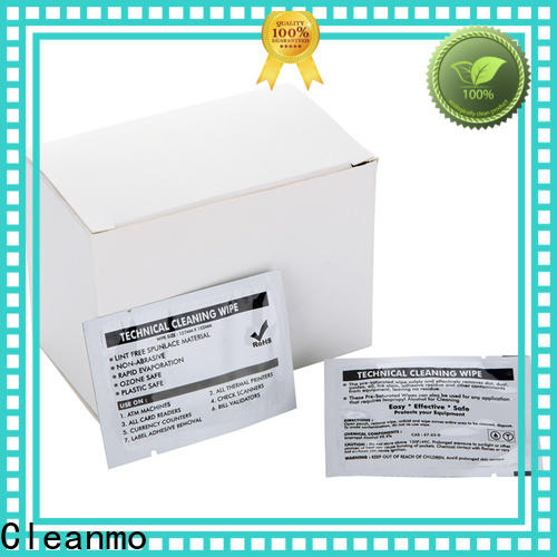 Cleanmo high quality Evolis Cleaning cards manufacturer for Cleaning Printhead