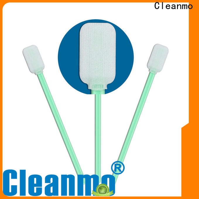 Cleanmo safe material polyester tube swabs wholesale for printers