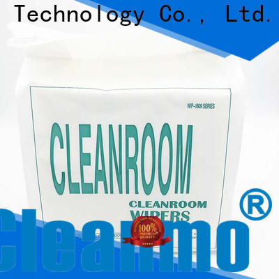 Cleanmo durable Industrial cloth manufacturer for stainless steel surface