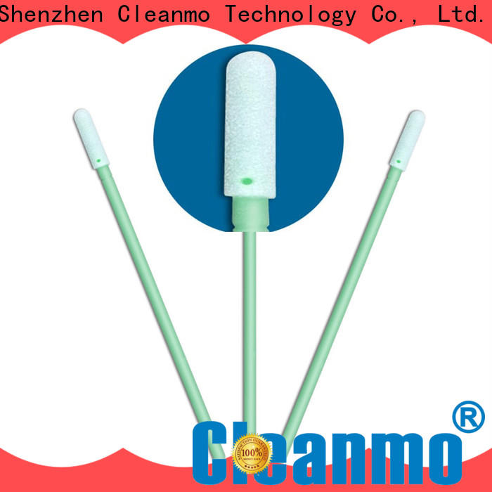 ESD-safe puritan cotton swabs small ropund head supplier for excess materials cleaning