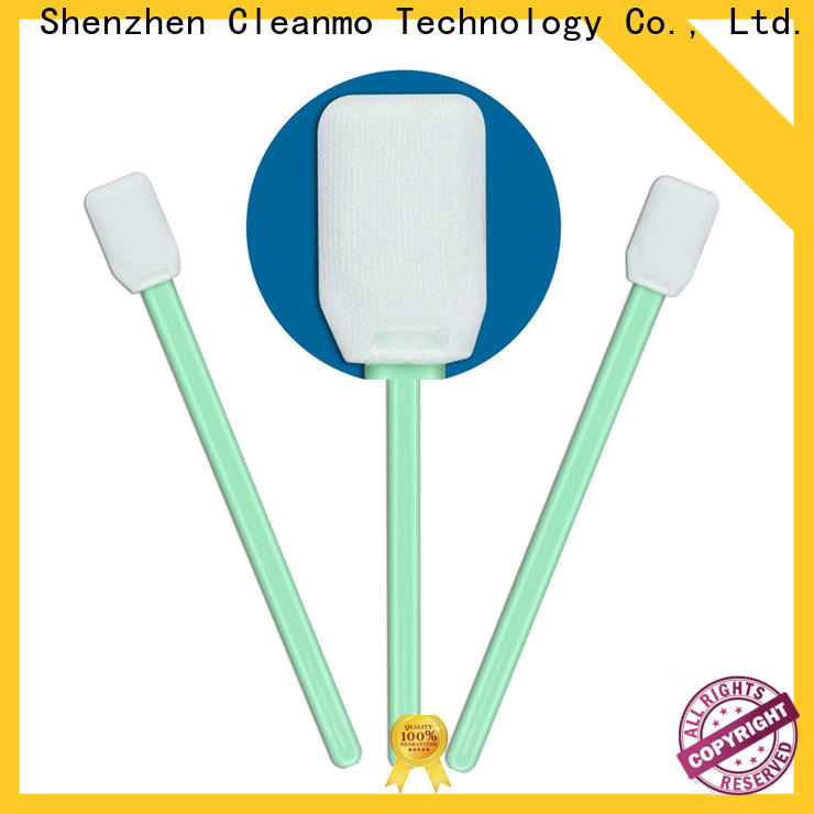high quality dslr sensor swabs double layers of microfiber fabric wholesale for excess materials cleaning