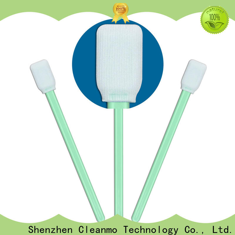 Cleanmo excellent chemical resistance swab cleaning manufacturer for microscopes