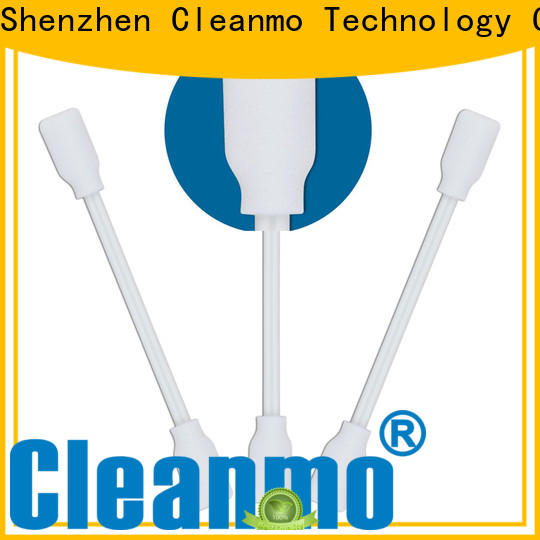 Cleanmo thermal bouded nose swab manufacturer for Micro-mechanical cleaning