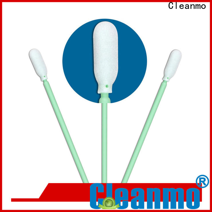 Cleanmo affordable foam oral mouth swabs supplier for general purpose cleaning