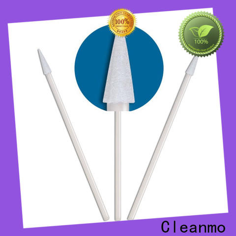 high quality flocked swab thermal bouded supplier for general purpose cleaning
