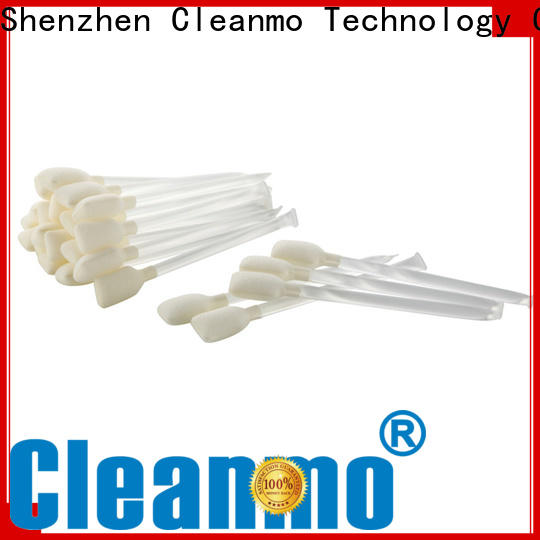 Cleanmo effective IPA pre-saturated cleaning swabs wholesale for computer keyboards