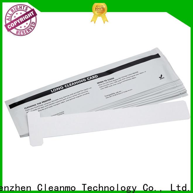 Cleanmo durable zebra printhead cleaning manufacturer for Zebra P120i printer