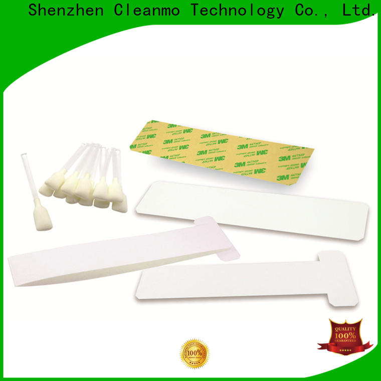 Cleanmo disposable zebra cleaning card supplier for ID card printers