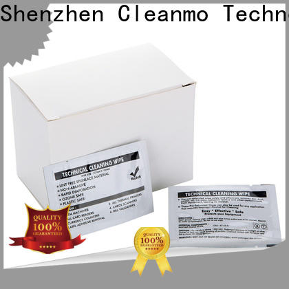 Cleanmo quick evolis cleaning kits manufacturer for Evolis printer