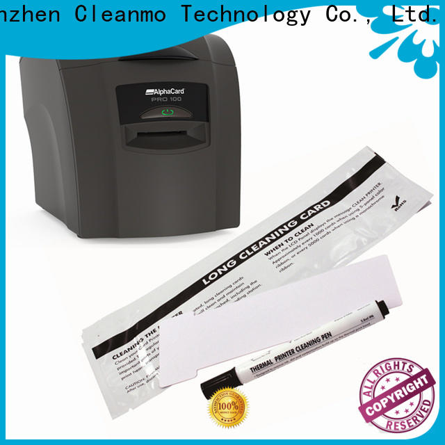 Cleanmo cost effective AlphaCard printer Cleaning Rollers factory for AlphaCard PRO 100 Printer