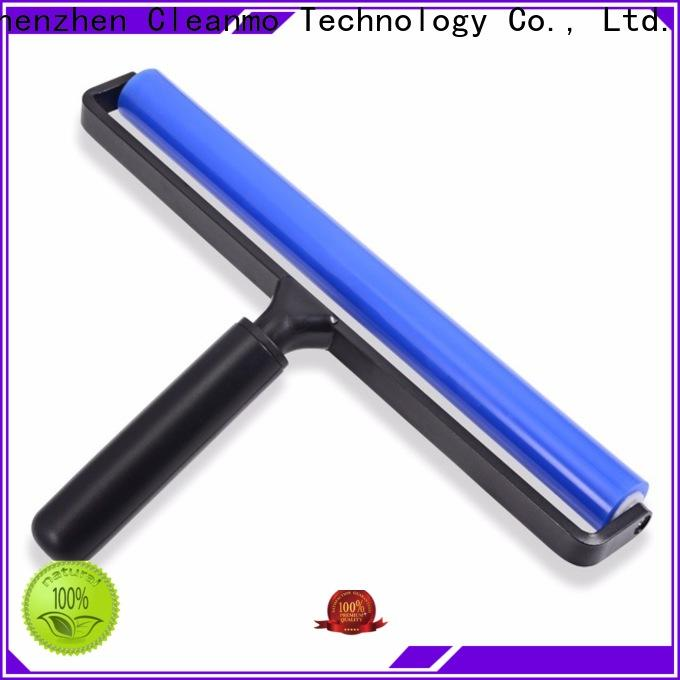 Cleanmo ABS Handle silicone rubber roller factory price for computer screen