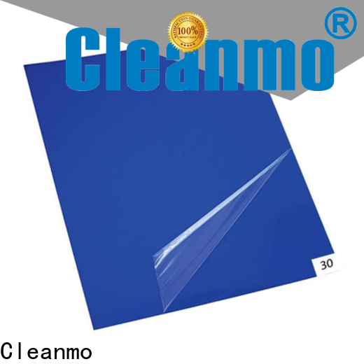 Cleanmo safe material cleanroom tacky mat wholesale for cleanroom entrances