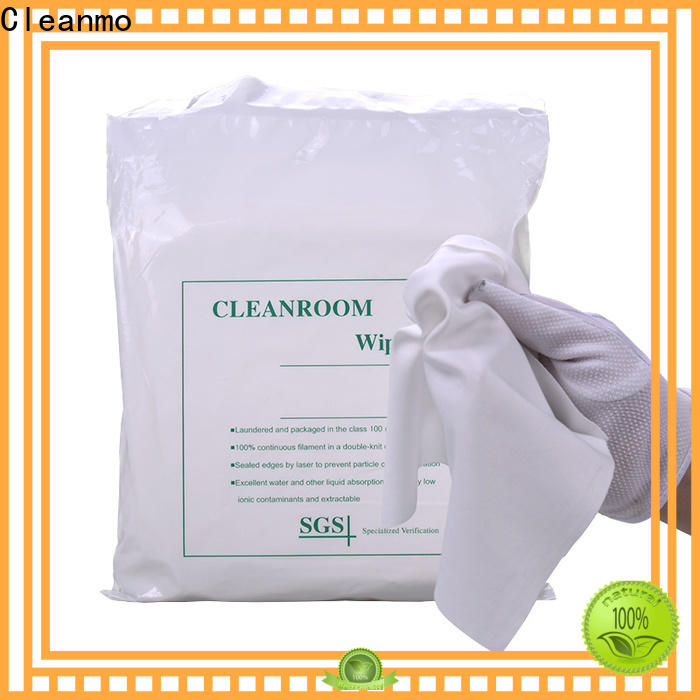 Cleanmo non-abrasive texture disinfectant wipes supplier for Stainless Steel Surface