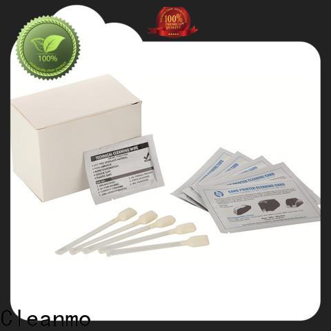 Cleanmo convenient printer cleaning supplies manufacturer for Evolis printer