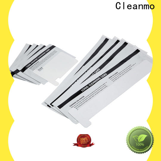 Cleanmo safe zebra cleaners manufacturer for Zebra P120i printer