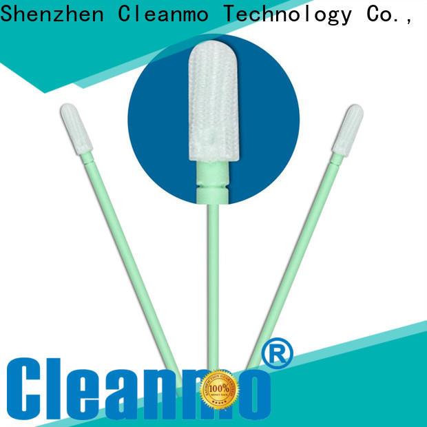 safe material polypropylene polyester swab excellent chemical resistance manufacturer for optical sensors