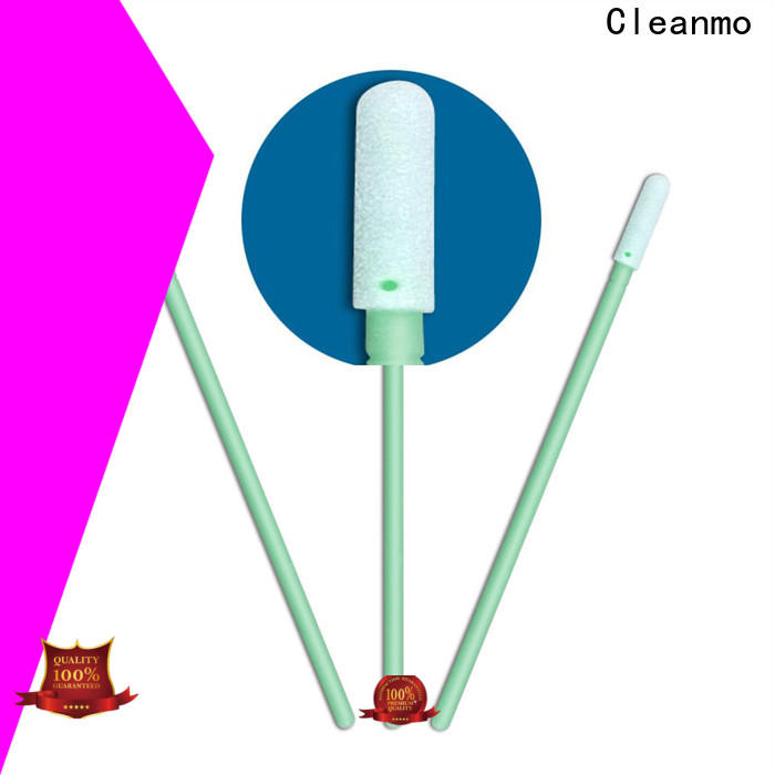 cost-effective large head cotton swabs ESD-safe Polypropylene handle factory price for general purpose cleaning
