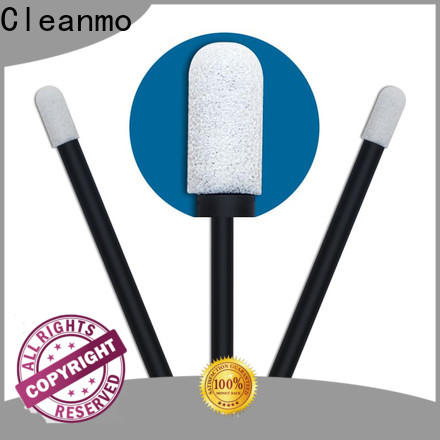 Cleanmo ESD-safe Polypropylene handle micro swabs manufacturer for excess materials cleaning