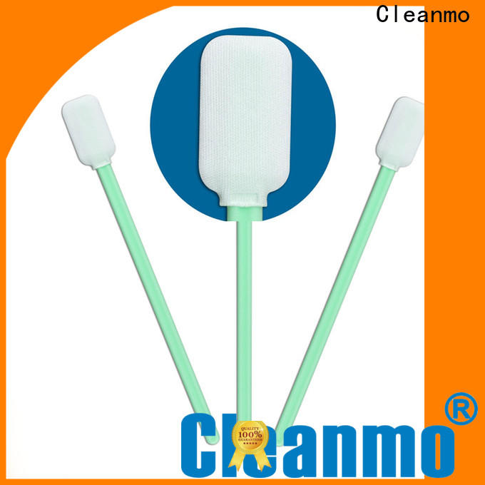 Cleanmo affordable chemtronics swabs supplier for excess materials cleaning