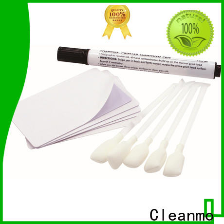 Cleanmo effective magic bullet printer cleaner manufacturer for PR5360LE TeamNisca ID Card Printers