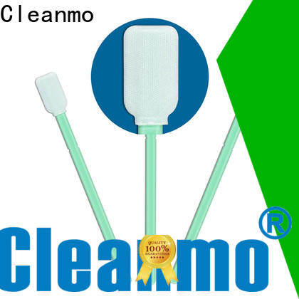 Cleanmo excellent chemical resistance Microfiber Industrial Swab Sticks manufacturer for excess materials cleaning