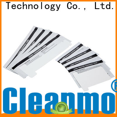 Cleanmo non woven zebra cleaning kit factory for Zebra P120i printer