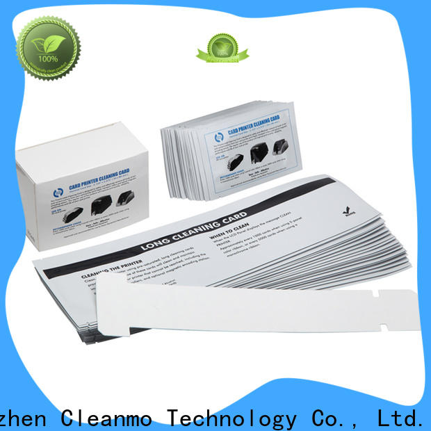 Cleanmo disposable zebra cleaning kit wholesale for Zebra P120i printer