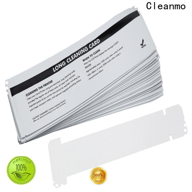 Cleanmo Aluminum foil packing zebra cleaning card factory for cleaning dirt