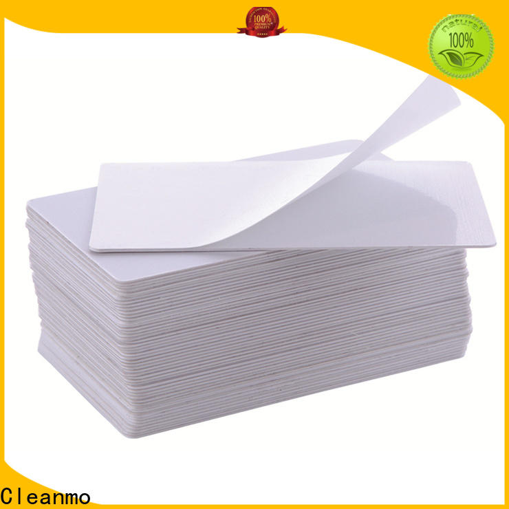 Cleanmo cost-effective Evolis Cleaning cards wholesale for Evolis printer