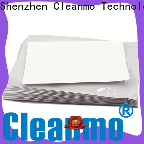 Cleanmo Hot-press compound printer cleaning supplies wholesale for ID card printers