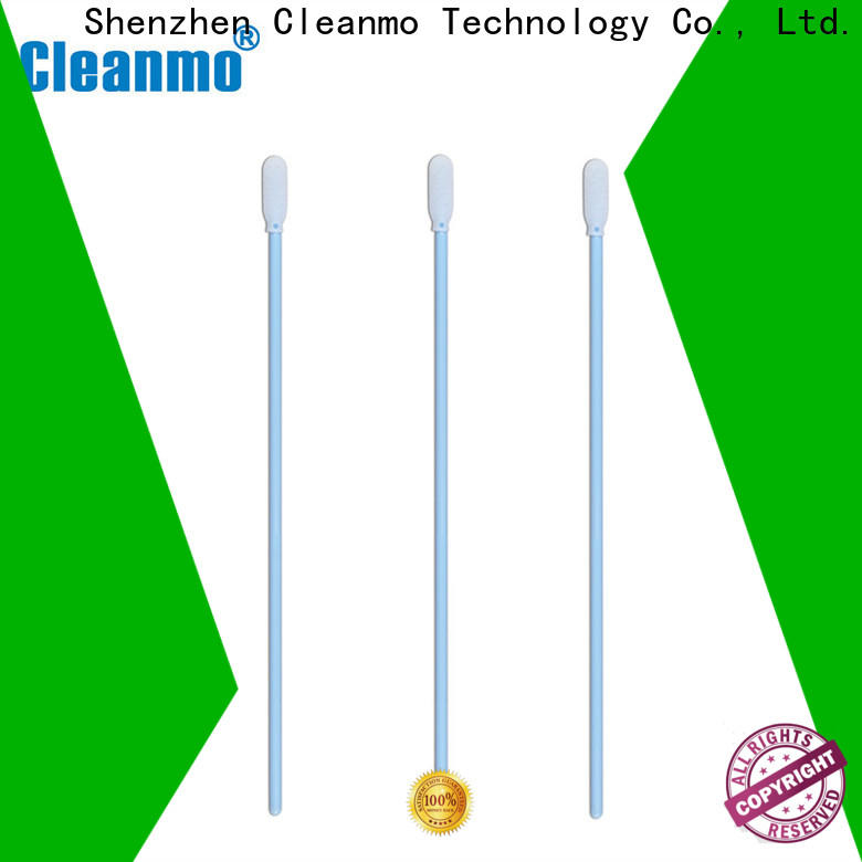 Cleanmo ESD-safe swab on factory price for Micro-mechanical cleaning