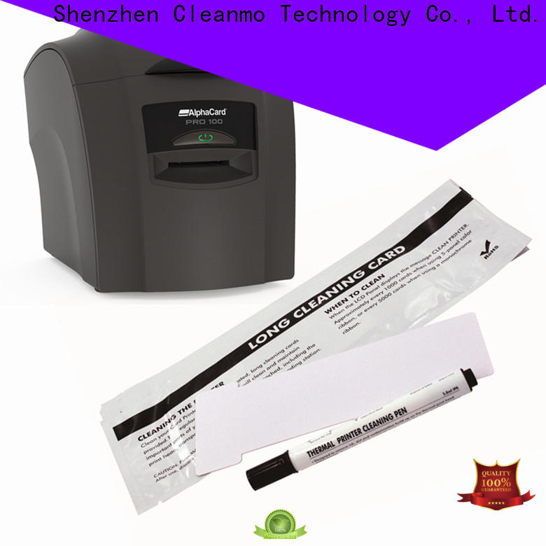 Cleanmo durable AlphaCard Printer Cleaning Kits factory for AlphaCard PRO 100 Printer