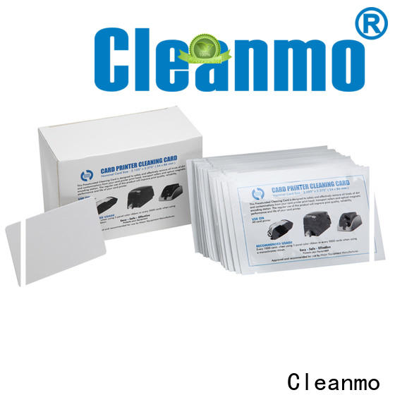 Cleanmo easy handling hotel key card cleaner factory price for POS Terminal