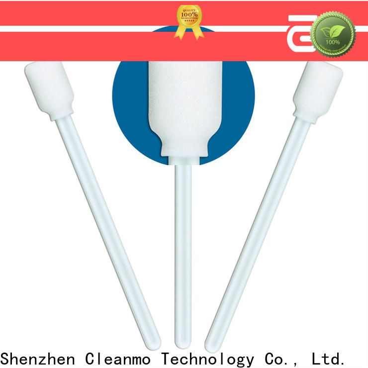 ESD-safe small cotton swabs small ropund head supplier for excess materials cleaning