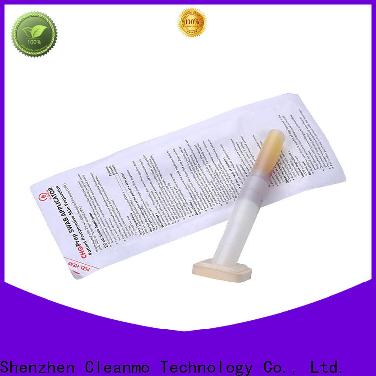 Cleanmo effective Medical Sterilized applicator supplier for surgical site cleansing after suturing
