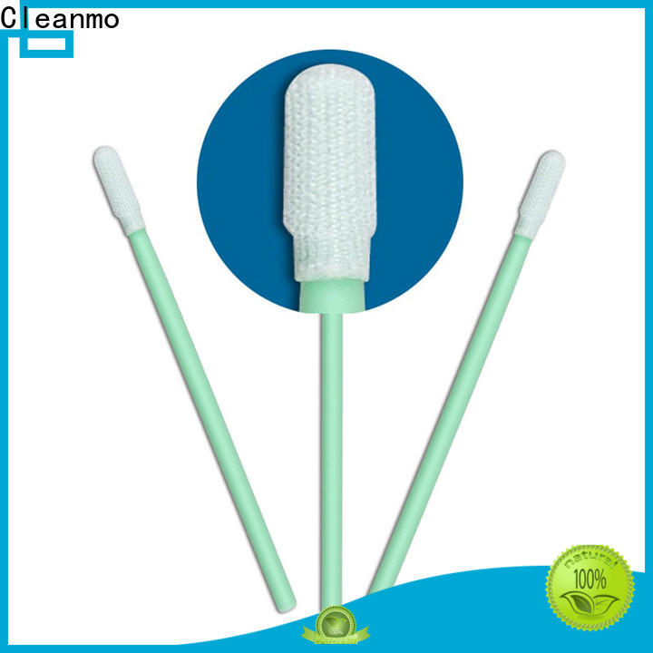 safe material polyester cleaning swabs double-layer knitted polyester factory for general purpose cleaning