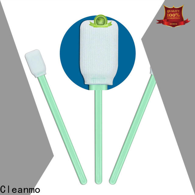 Cleanmo good quality clean room cotton swabs supplier for printers