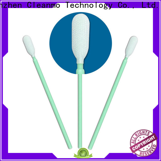 safe material texwipe polyester swabs double-layer knitted polyester manufacturer for printers