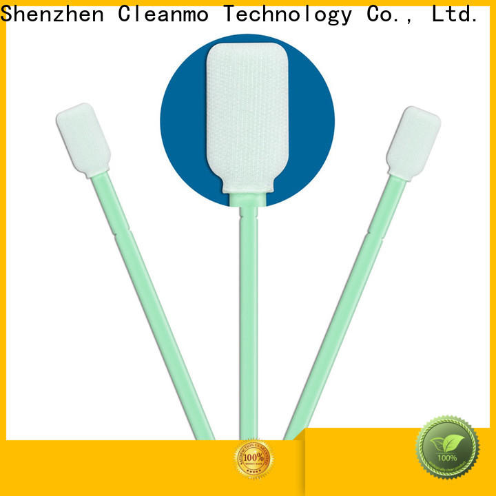 Cleanmo compatible fiber optic cleaning swabs wholesale for general purpose cleaning