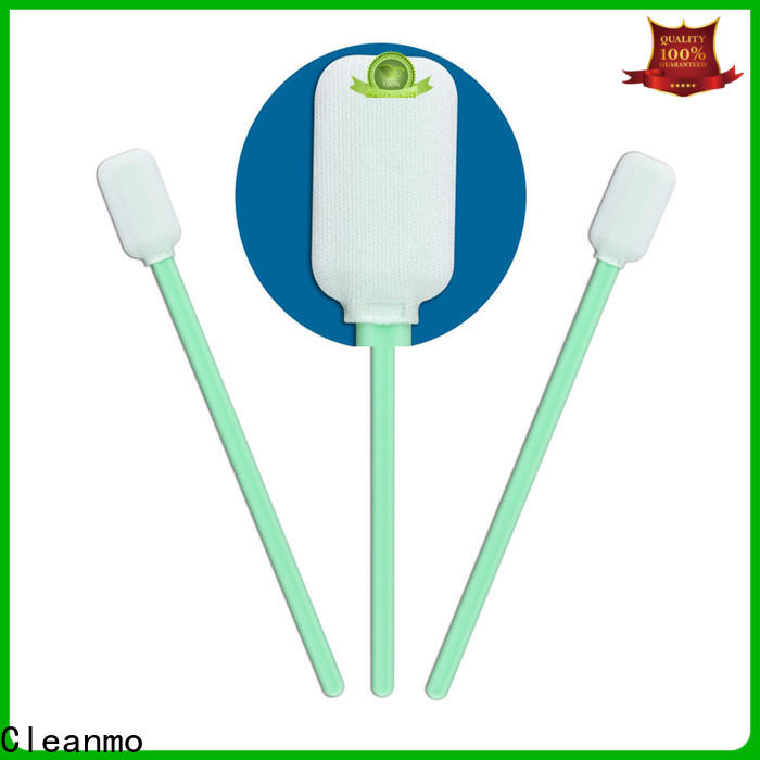 Cleanmo Polypropylene handle sensor swab wholesale for excess materials cleaning