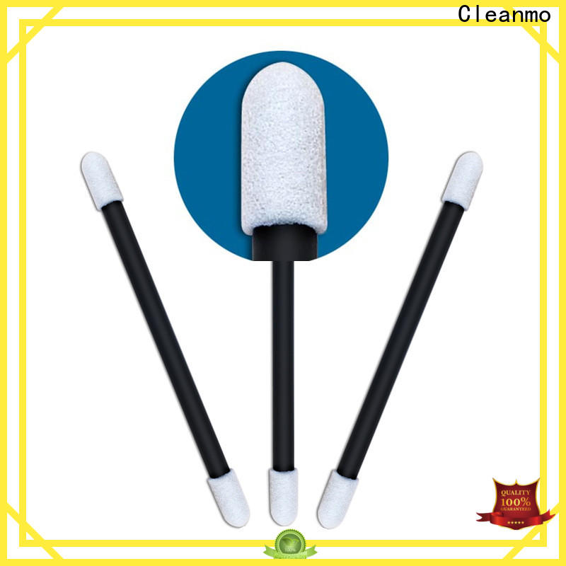 Cleanmo green handle earbud to remove ear wax manufacturer for Micro-mechanical cleaning